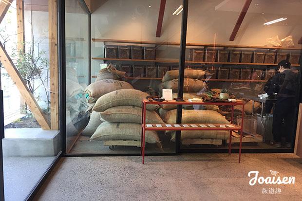 Dandelion Chocolate 店內工廠