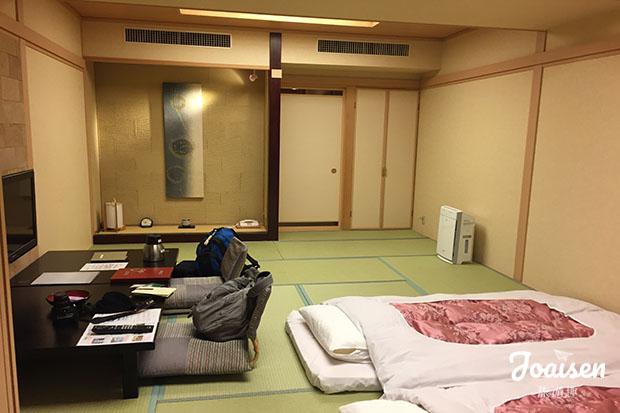 房間已經舖好床